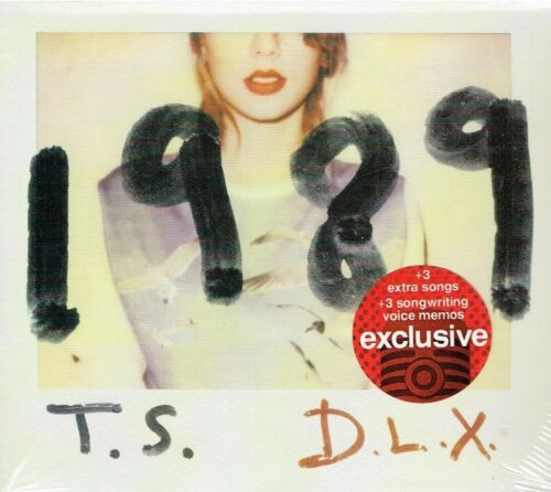 Taylor Swift  1989 Deluxe Target Edition CD BRAND NEW FACTORY SEALED  USA