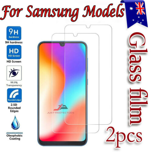 2x For Samsung Galaxy A21S A12 A52 A20 A51 A11 Tempered Glass Screen Protector