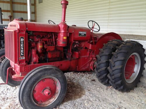 1938 ID-40 International McCormick Deering Diesel Crank antique vintage Tractor