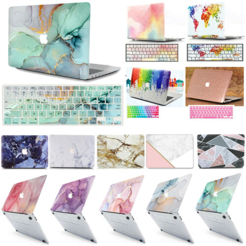 """Multicolored Pattern Protective Case for 2020 MacBook Pro Air 13"""" 13.3"""" M1 CPU"""