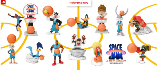 McDONALD'S 2021 SPACE JAM 2 HAPPY MEAL TOYS! LEBRON JAMES! PICK YOUR FAVORITES!