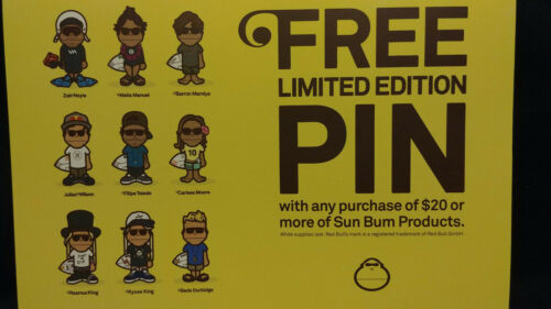 SunBum Sunscreen Limited Edition Team Enamel Pins Complete Sets & You Pick
