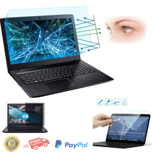 2 Pack Screen Protector Anti Blue Light Glare Filter All Laptop 15.6'' HP New US