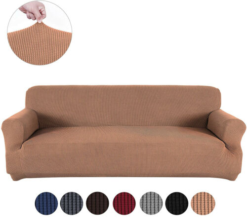 1/2/3/4 Seater Slipcover Sofa Covers Spandex Stretch Couch Furniture Protector
