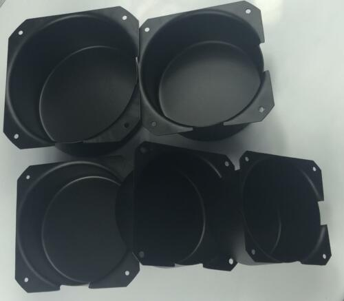 Black Metal Shield Toroid Transformer Cover Chassis (multiple sizes available)