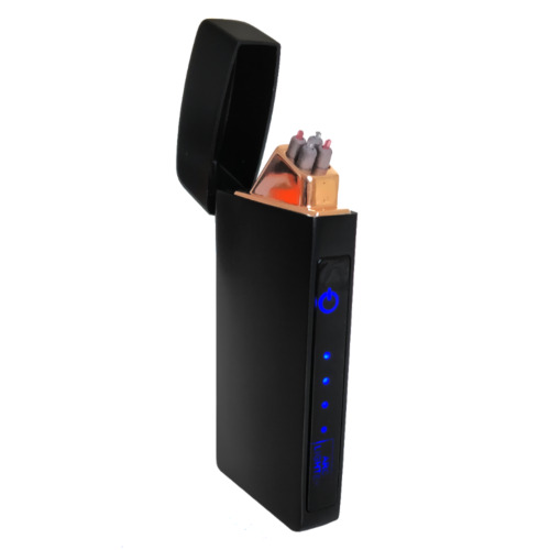 Electric Lighter Flameless Windproof Electric Dual Arc Plasma Torch Rechargeable