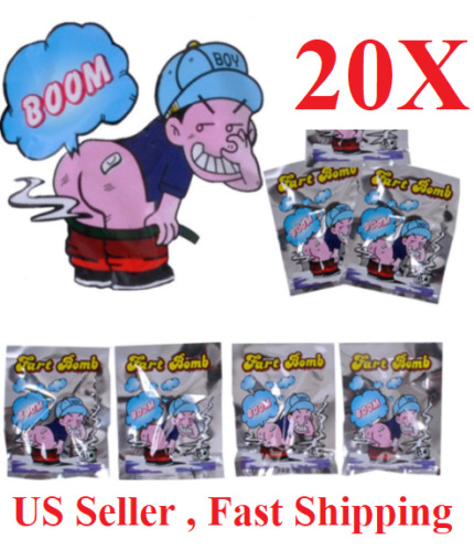 20 Fart Stink Bombs Nasty Smelly Prank Gag Ass Bags funny party joke