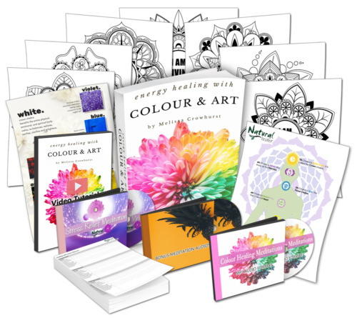 Energy Healing with Colour and Art Course ❤ Colour Healing Certification Course