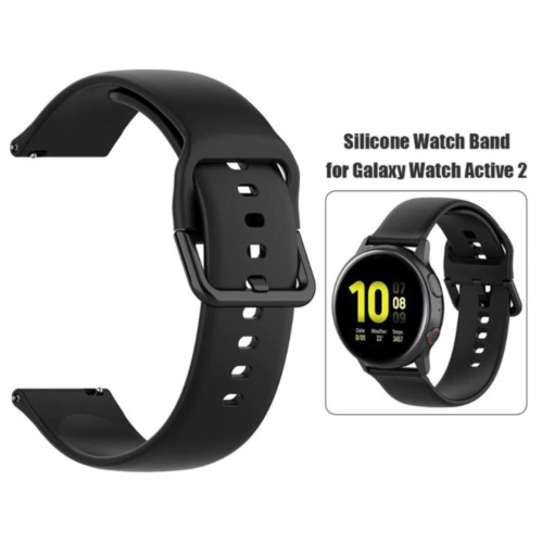 20mm Silicone Band Strap For Samsung Galaxy Watch Active 2 Huawei Watch GT 42mm