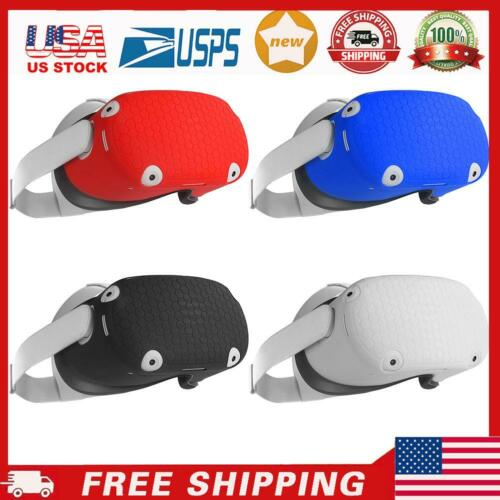 Silicone Protective Shell Anti Scratch Front Cover for Oculus Quest 2V-R Headset