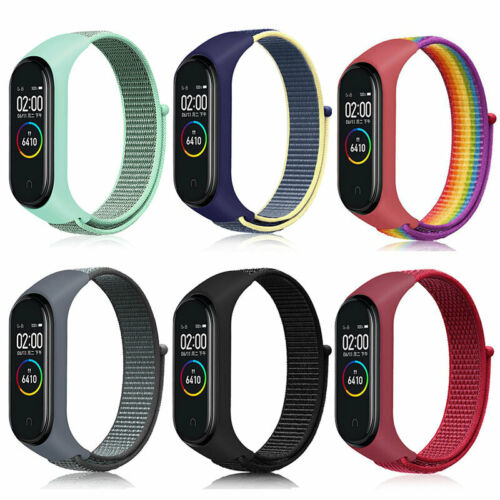 Nylon Loop Band Strap Wristband Smart Watch Replaceable for Xiaomi Mi band 5/6