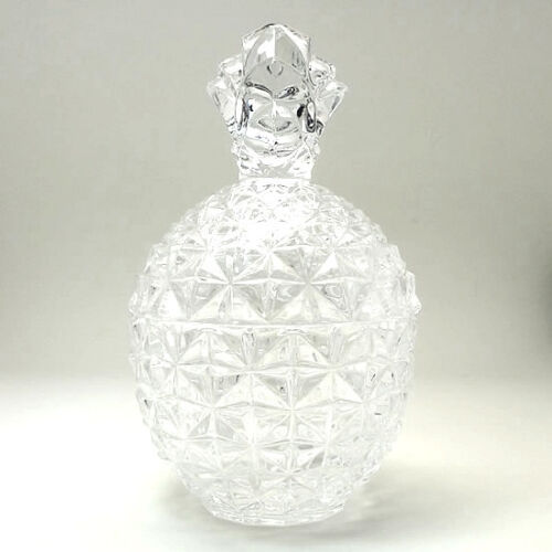 * Chinese New Year Feng Shui * Pineapple Crystal Glass Apothecary