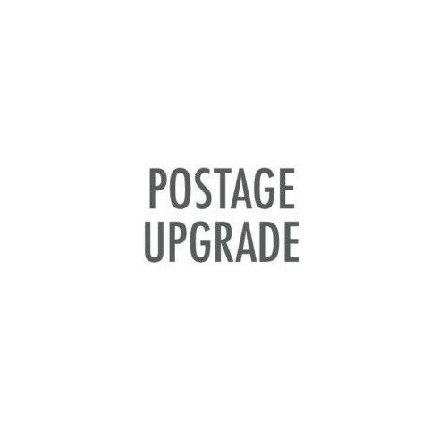 POSTAGE UPGRADE - Additional amount required local express postage & tracking