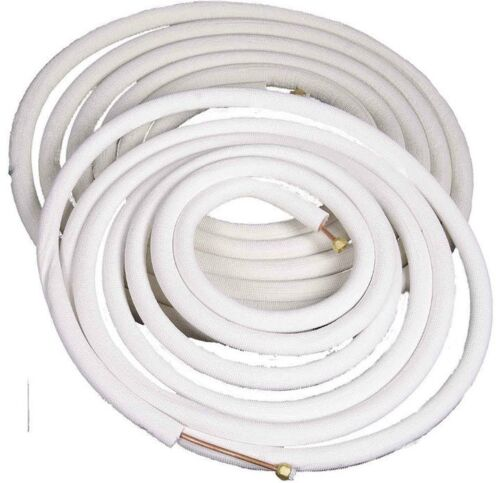 COPPER Ductless Mini Split Connection LineSet All Sizes: 1/4, 3/8, 1/2, 5/8, 3/4
