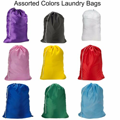 1, 2, 3 Pack  Laundry Bag Heavy Duty Large Jumbo Nylon 30 x 40 - Great for College