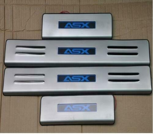 2011 TO 2018 Mitsubishi ASX LED stainless steel Scuff Plate Door
