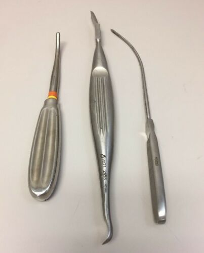 Lot Of 3 Liposuction Cannula / Surgical Instruments N5650, 01-02540, 71-2453