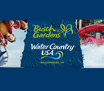 BUSCH GARDENS WILLIAMSBURG WATER COUNTRY 3-DAY TICKET SAVING PROMO DISCOUNT TOOL