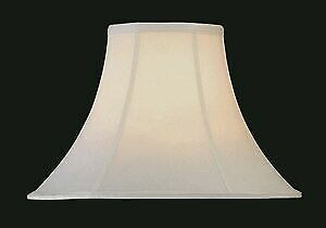 Lite Source CH101-18 Accessory - 18 Inch Bell Shade  Antique Eggshell Finish