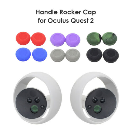 NEW! EXCLUSIVELY FOR OCULUS QUEST 2 SILICONE CONTROLLER THUMB GRIPS BY NEOTEK VR