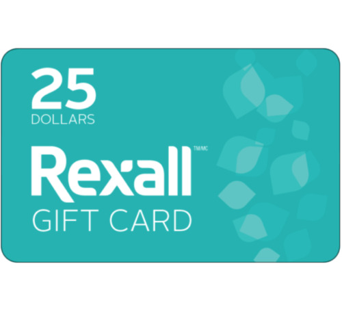 Rexall Gift Card $25 or $50 - via email delivery