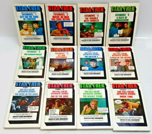 1977-1978 Star Trek Fotonovel Paperback Book Collection-Your Choice of 12 or Set