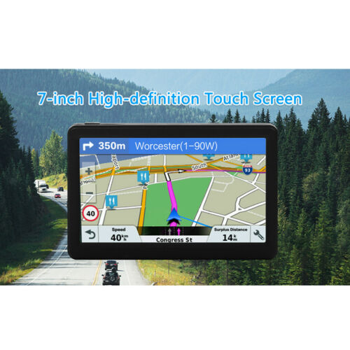 """7"""" Inch Touch Screen Car Truck GPS Navigation System 8GB 256MB Traffic Voice"""