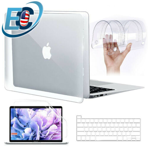 Crystal Clear Hard Case Keyboard Cover for 2020 MacBook Air Pro 13 M1 A2337 2338