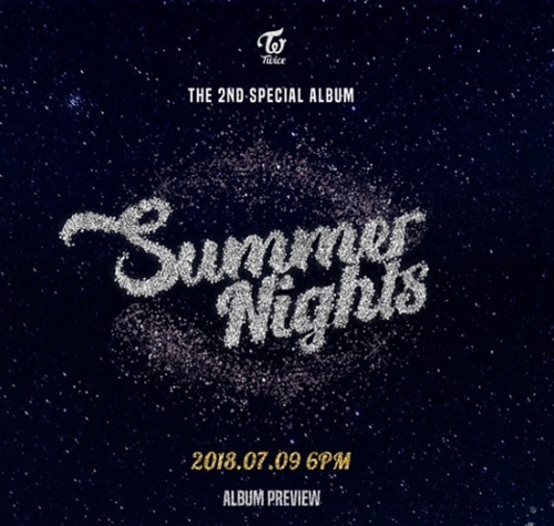 US SHIPPING Twice [Summer Nights] 2nd Special Album SELECT  CD+Book+Card+etc