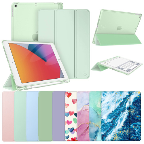"""For Apple iPad 10.2"""" 8th Generation 2020 Folio Stand Shockproof Smart Case Cover"""