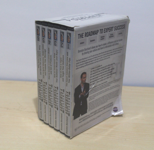 Brendon Burchard Presents EXPERTS ACADEMY 6 Disc Audio CD Training NEW SEALED