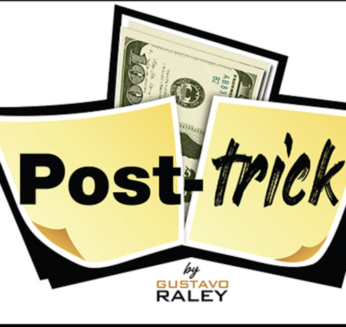 POST TRICK (Gimmicks and Online Instructions) by Gustavo Raley