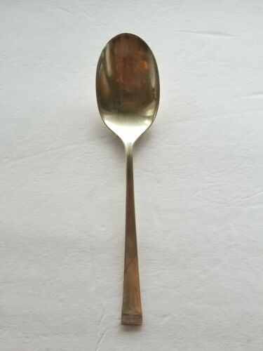 Gorham Theme Sterling Silver Dessert Oval Soup Spoon