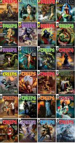 CREEPS MAGAZINE ISSUES #1 - 32 NEW UNREAD COPIES - YOU PICK - FINISH YOUR SERIES