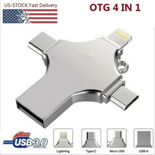 1TB USB 3.0 Flash Drive Memory Stick for Samsung iPhone Android iPad Type C PC