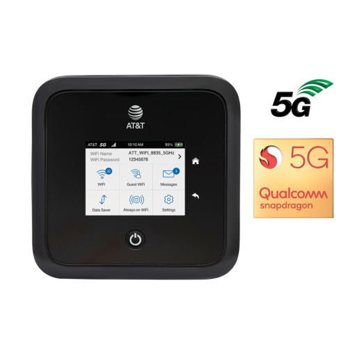 Nighthawk 5G WiFi 6 Mobile Hotspot Pro for AT&T A Stock see note
