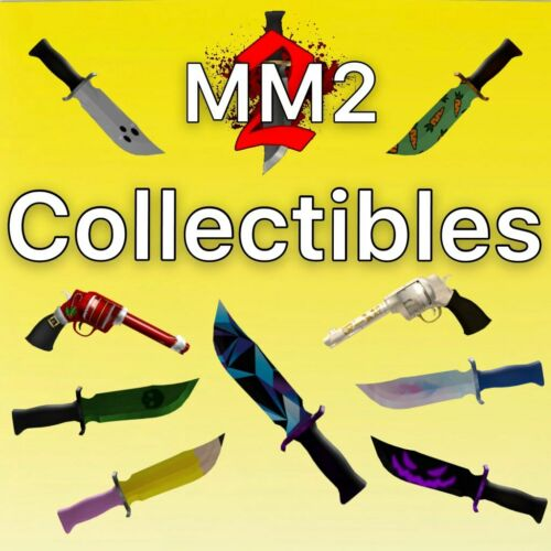 MM2 Roblox - ALL RARE COLLECTIBLES FAST AND CHEAP (Read Desc)