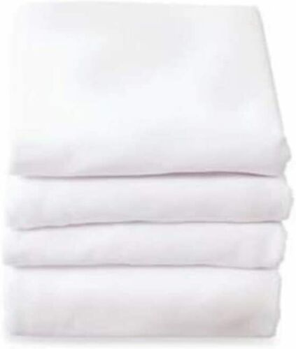 Textile (36x84x16 in) Contour Hospital Bed White Twin Fitted Knitted Sheet