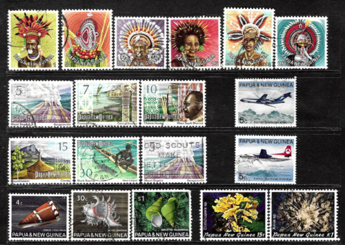 Papua New Guinea .. Collection of used postage stamps .. 5789