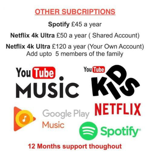 🔥 YouTube Premium 1 Year 🔥AD-Free 🔥Download Videos🔥Music 🔥 Works Wide