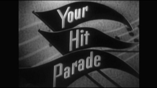 YOUR HIT PARADE:  Easter 1954.  Gisele MacKenzie, Dorothy Collins+ Negative +DVD