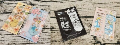 Disney Princess Mickey Mouse Alice Bookmarks Magnet Belle Cinderella Gift Cute