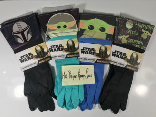 Star Wars The Mandalorian Cleaning Gloves - 4 Designs to Choose From