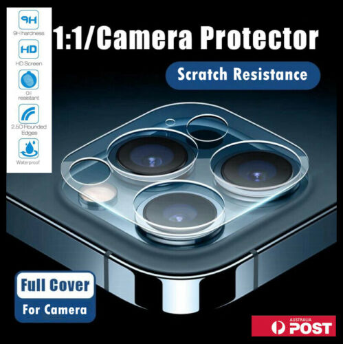 Clear Camera Lens Tempered Glass Screen Protector Cover For iPhone 12 11 Pro Max