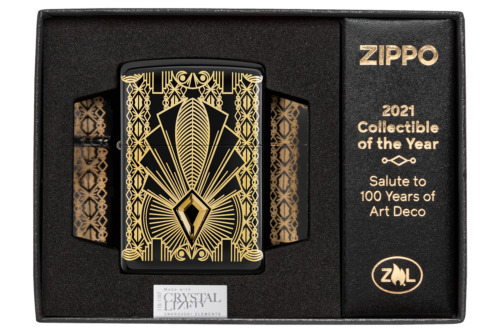 Zippo 2021 Collectible of the Year Windproof Lighter 100 Years of Art Deco