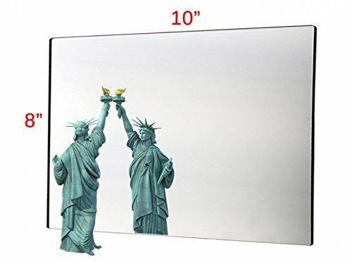 Acrylic Mirror Sheet Great for Classroom Camping House Polished Round Corner 1/8