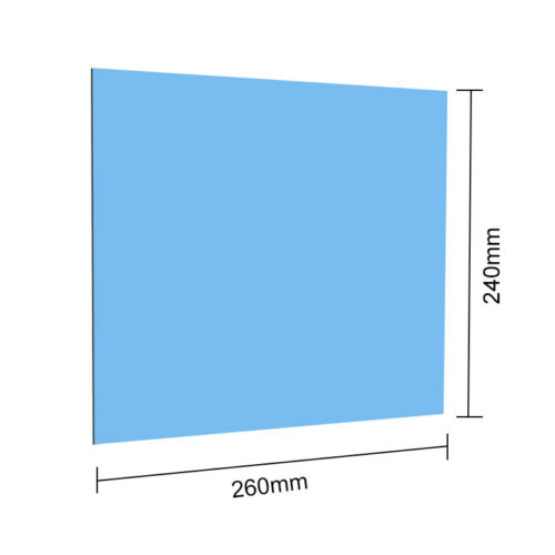 240x260mm Optical First Surface Mirror Reflector Projector Accessories 1.1/2/3mm
