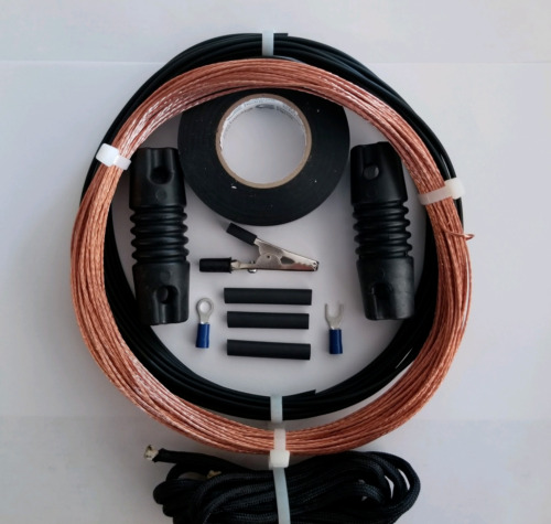 Shortwave SWL Antenna  *The Nightstar* 100' Bare Copper Longwire EZ UP w/inst
