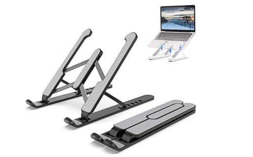 Laptop/iPad Stand, Foldable and Adjustable Laptop Riser, Portable Ventilation