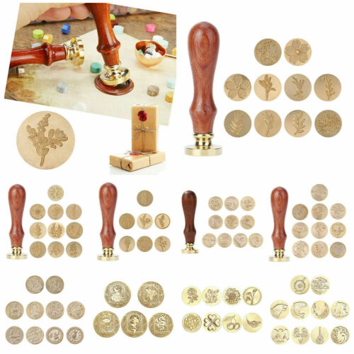 3D Relief Sealing Wax Stamp Head Vintage Wax Seal Stamp for DIY Decorative Craft